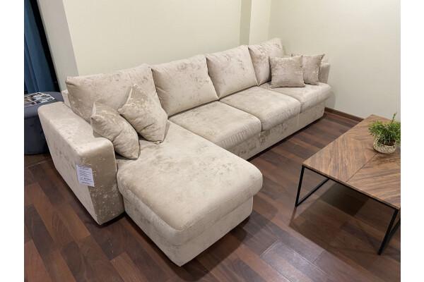 Диван Monaco с оттоманкой (300 см) - Купить мебель в Москве с доставкой
