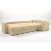 Угловой диван Monaco + оттоманка (305 см) - Купить мебель в Москве с доставкой