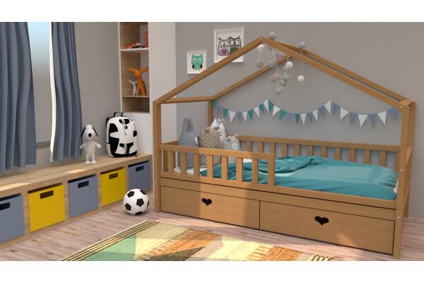 Кровать-домик 2 - Купить мебель в Москве с доставкой