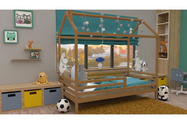 Кровать-домик 4 - Купить мебель в Москве с доставкой