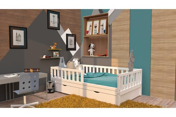 Детская кровать Jerry с ящиками - Купить мебель в Москве с доставкой
