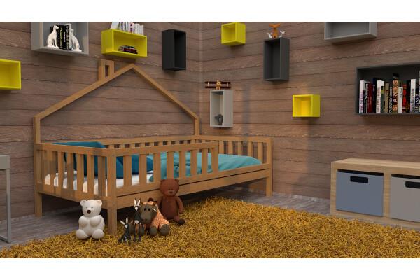 Кровать-домик 10 - Купить мебель в Москве с доставкой