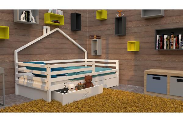 Кровать-домик 9 - Купить мебель в Москве с доставкой